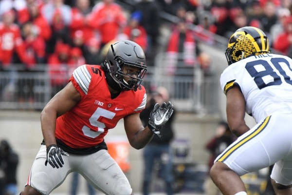Raekwon McMillan (5) led the Silver Bullets against TTUN tying his career high with 16 tackles.